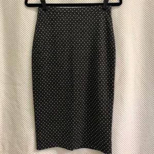 Free People Polka Dot Skirt